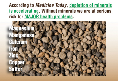 Medicine Today Mineral Depletion