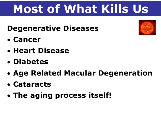 Most of What Kills Us
