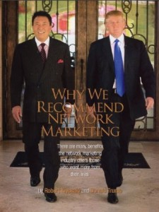 why we recommend network marketing