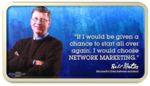 Bill gates network marketing