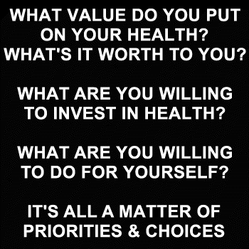 What is Your Health Worth?