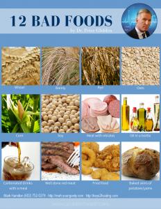 12 Bad Foods