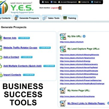 Youngevity Business Success Tools