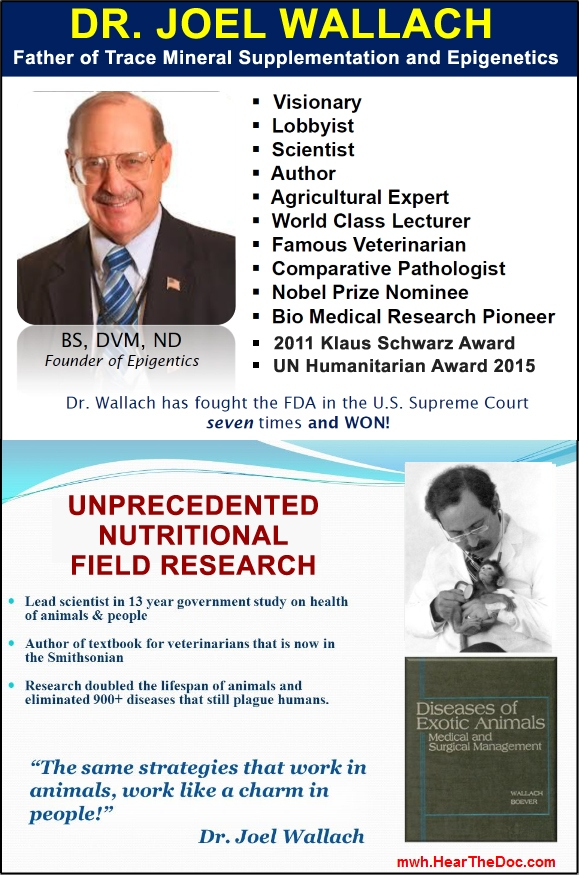 Dr. Wallach Credentials
