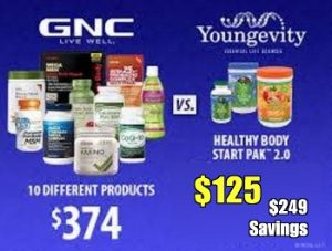 Youngevity verses GMC